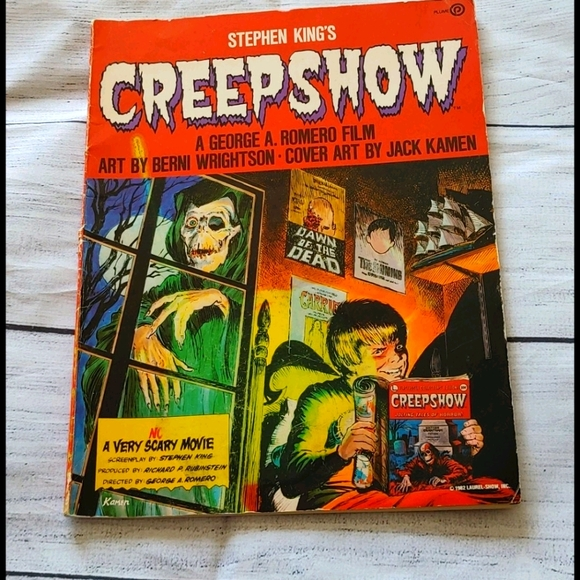 Stephen Kings Creepshow comic book 1982